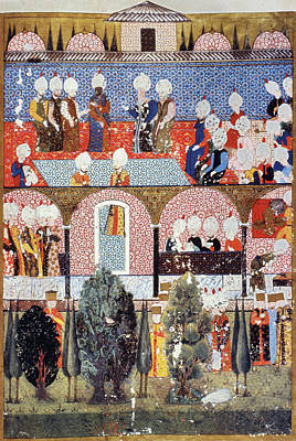 Suleimans Painting - Suleiman's Ministers by Granger