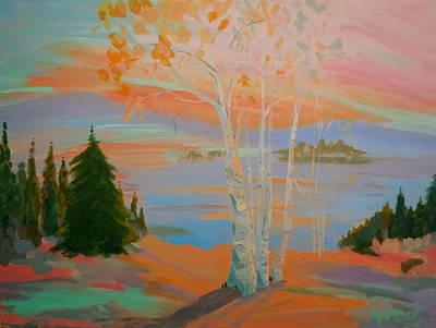 Sullivan Sunset Print by Francine Frank