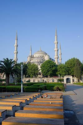 Sultan Ahmet Mosque In Istanbul Print by Artur Bogacki