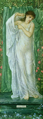 Fruit Tree Art Painting - Summer by Sir Edward Coley Burne-Jones