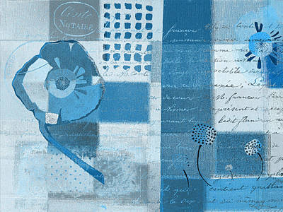 Variation Painting - Summer 2014 - J088097112-blueall by Variance Collections