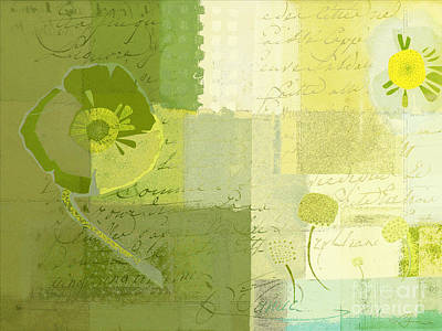 Variation Painting - Summer 2014 - J103155155m04-green by Variance Collections
