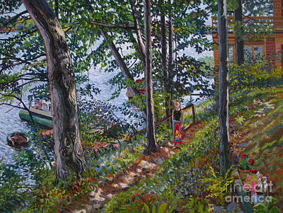 Bukowski Painting - Summer Afternoon by William Bukowski