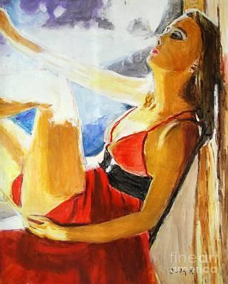 Summer And Smoke Original by Judy Kay