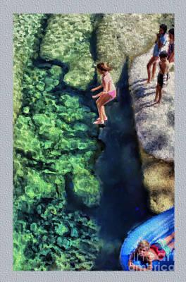 Summer At Yosemite Print by Jeff Breiman