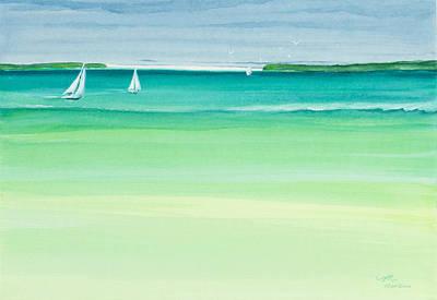 Summer Breeze Original by Michelle Wiarda