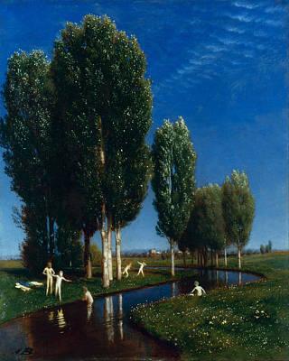Arnold Boecklin Painting - Summer Day by Arnold Boecklin