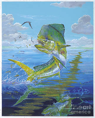 Key Largo Painting - Summer Doldrums Off0015 by Carey Chen