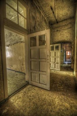 Disorder Digital Art - Summer Doors by Nathan Wright