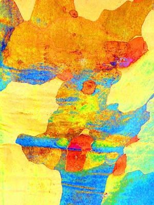 Fantasy Bark Photograph - Summer Eucalypt Abstract 25 by Margaret Saheed