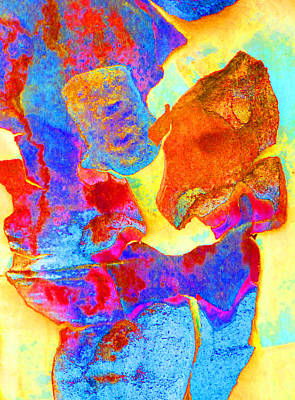 Fantasy Bark Photograph - Summer Eucalypt Abstract 28  by Margaret Saheed