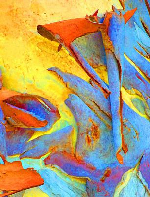 Fantasy Bark Photograph - Summer Eucalypt Abstract 29 by Margaret Saheed
