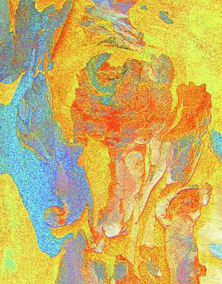 Fantasy Bark Photograph - Summer Eucalypt Abstract 3 by Margaret Saheed