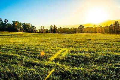 Field Of Crops Photograph - Summer Fields by Parker Cunningham