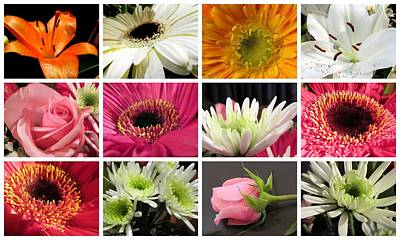 Photograph - Summer Flowers by Joyce Woodhouse