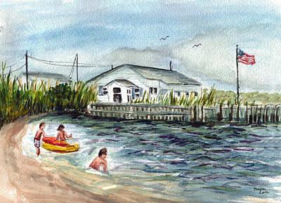 Summer Fun Before Sandy Original by Clara Sue Beym