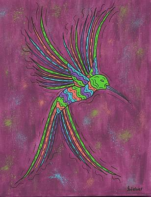 Painting - Summer Hummer by Susie WEBER