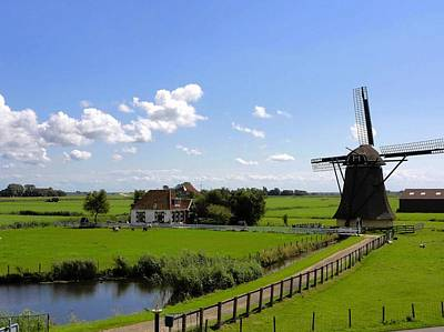 Summer In The Netherlands Print by Mountain Dreams