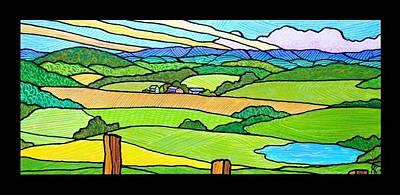 Summer In The Shenandoah Valley Original by Jim Harris