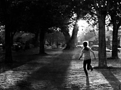 Children Playing Photograph - Summer Joy by Theresa Tahara