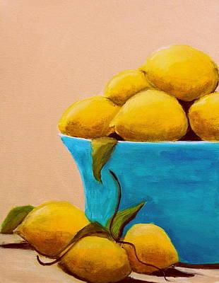 Summer Lemons Original by Katy Hawk