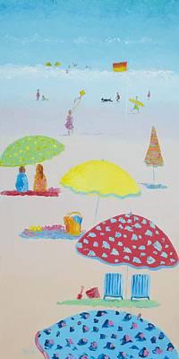 Cabin Interiors Painting - Summer Magic by Jan Matson