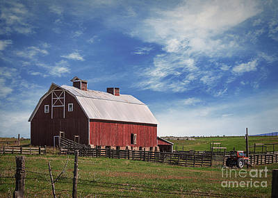 Dolores Photograph - Summer Mancos Barn  by Janice Rae Pariza