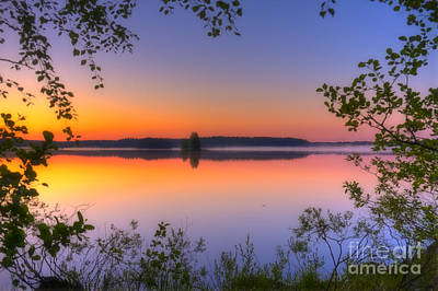 Salo Photograph - Summer Morning At 02.05 by Veikko Suikkanen