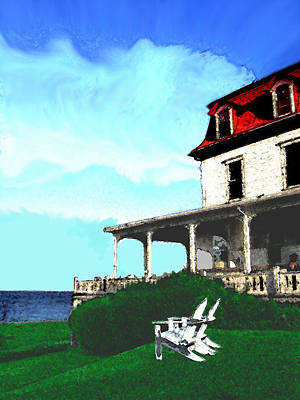 Summer On Block Island Print by William Sargent