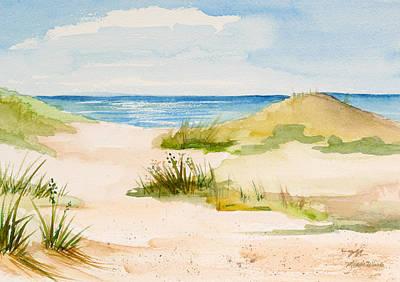Summer On Cape Cod Print by Michelle Wiarda