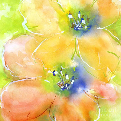 Summer Poppies 1 Print by Chris Paschke