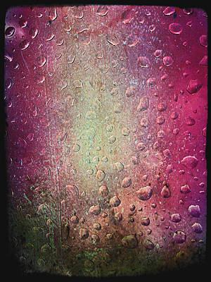 Rain Digital Art - Summer Rain by Linda Sannuti