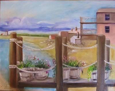 Summer Retreat  Original by Maria Milazzo