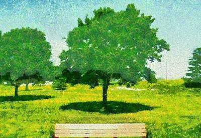 Summer Shade Print by Dan Sproul