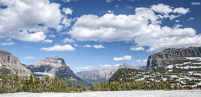 Summer Snow Print by Jon Glaser
