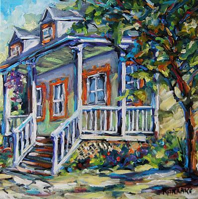 Finding Fine Art Painting - Summer Sun By Prankearts by Richard T Pranke