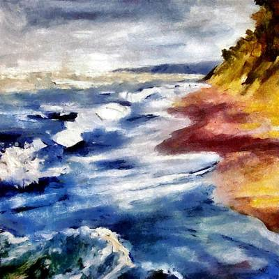 Painting - Summer Tempest by Michelle Calkins