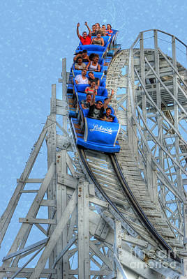 Coaster Photograph - Summer Time Thriller by Juli Scalzi