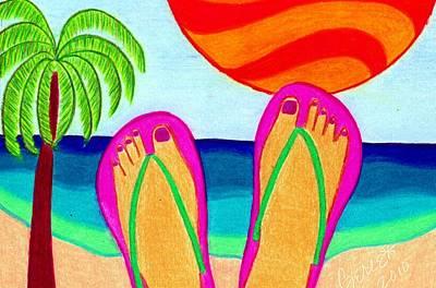 Summer Vacation Print by Geree McDermott