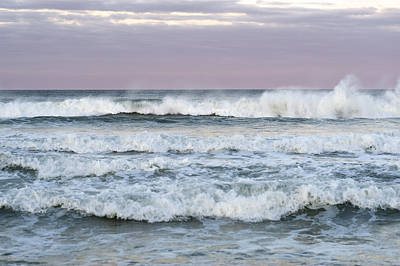 Summer Waves Seaside New Jersey Print by Terry DeLuco