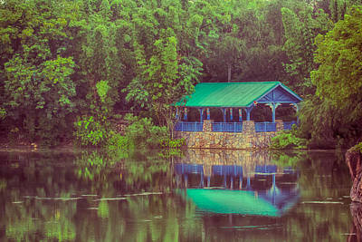 Disney Photograph - Summers On The Lake by Nicholas Evans