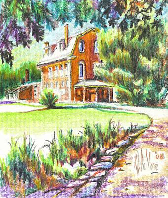 Summertime At Ursuline No C101 Original by Kip DeVore