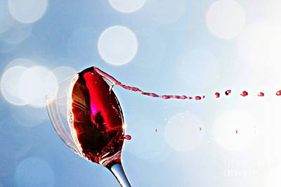 Wine Photograph - Summertime by Clare Bevan