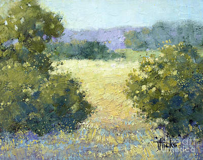 Painting - Summertime Landscape by Joyce Hicks
