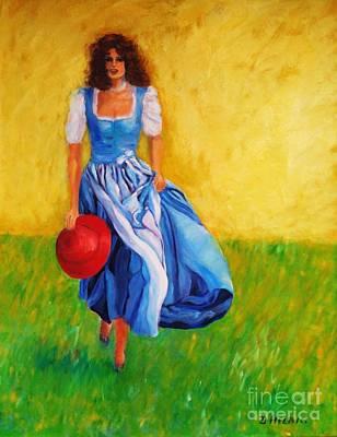 Dagmar Painting - Summerwind by Dagmar Helbig