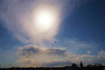 Anstruther Digital Art - Sun And Skies by Elena Perelman