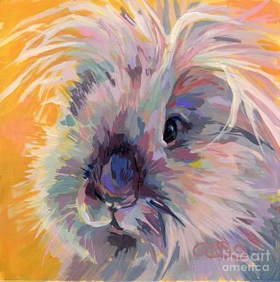 Peaches Painting - Sun Bun by Kimberly Santini
