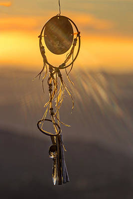 Amulet Photograph - Sun Catcher by Peter Tellone