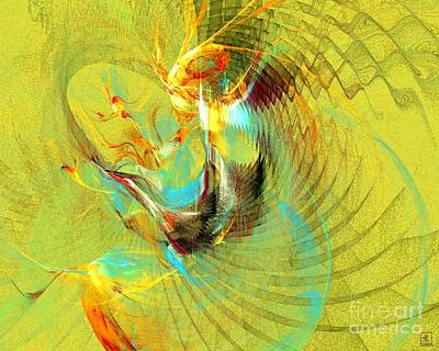 Artport Digital Art - Sun Dancer by Jeanne Liander