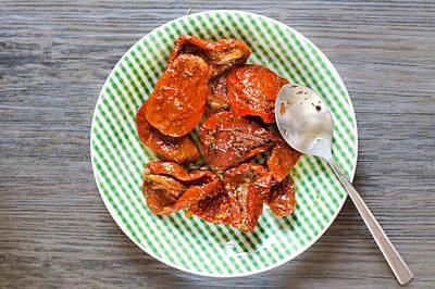 Sun Dried Tomatoes Print by Tom Gowanlock